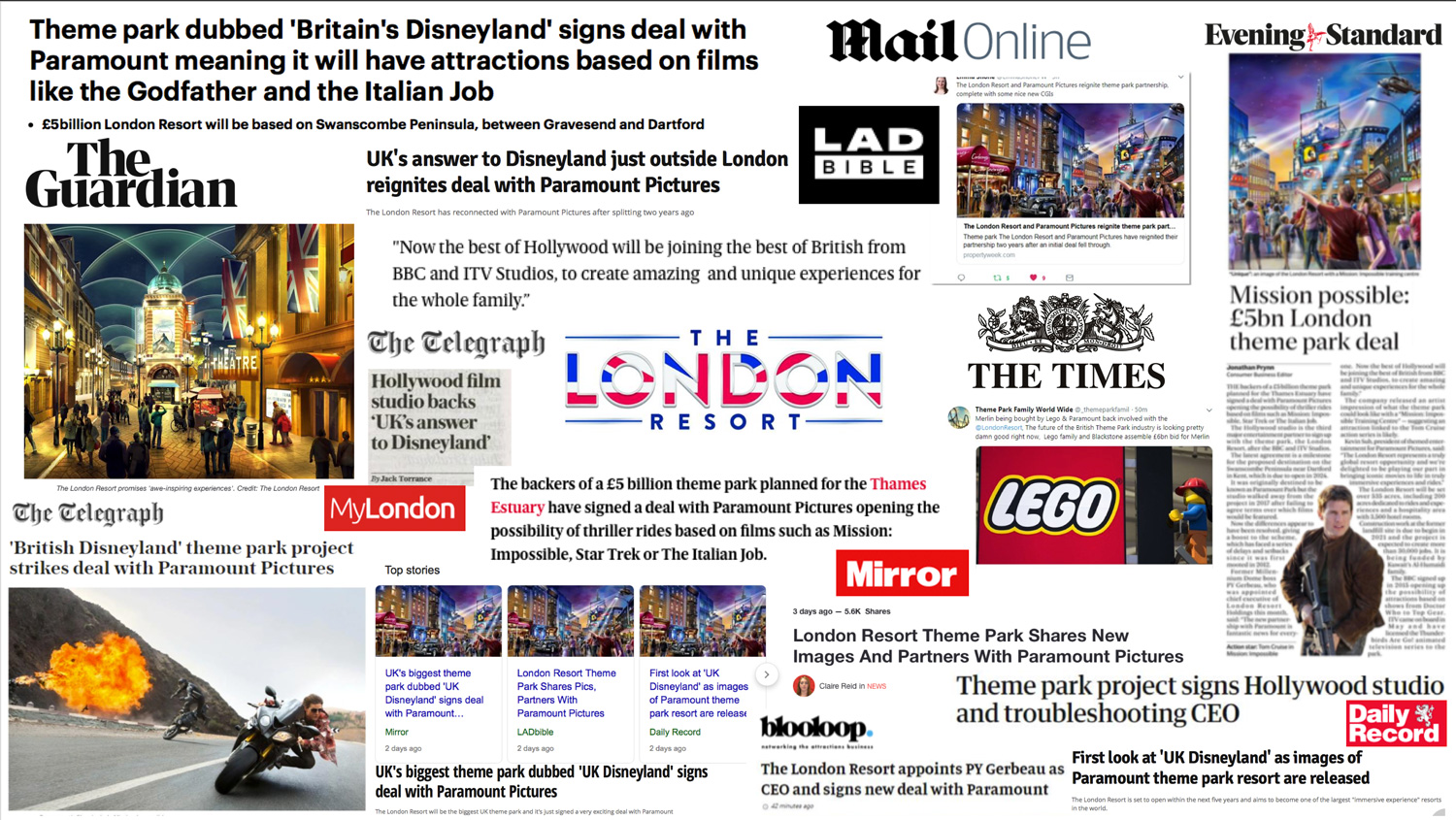 The London Resort: Strategu Consultancy and Communications